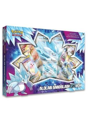 Alolan Sandslash GX Box.