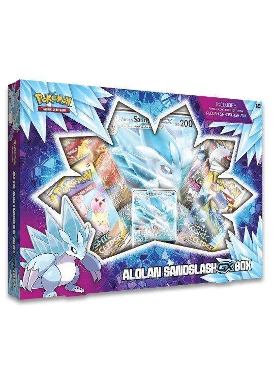 Alolan Sandslash GX Box.