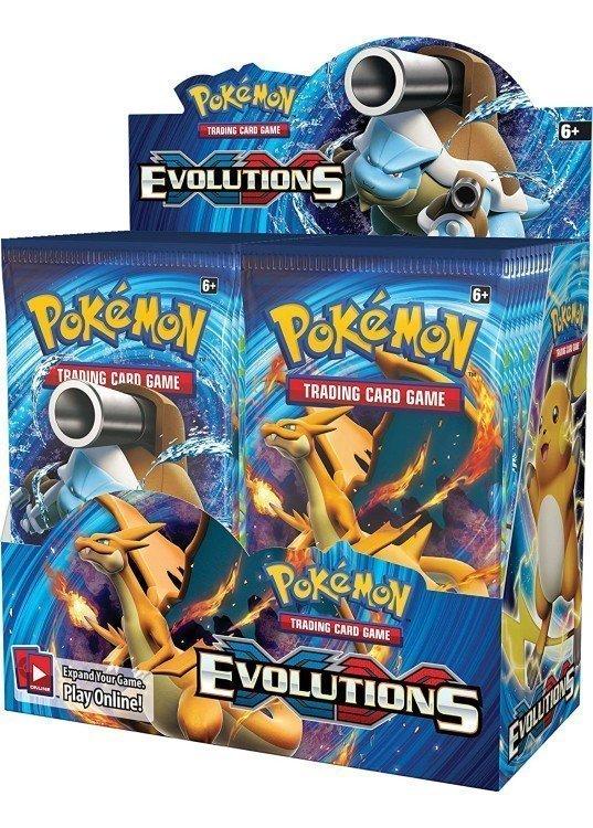 Booster Box (36 stk.) - XY Evolutions
