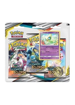 Celebi blister pack (3 stk.) - S&M Cosmic Eclipse