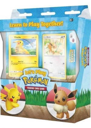 Let's play together, Pikachu & Eevee - Theme Deck