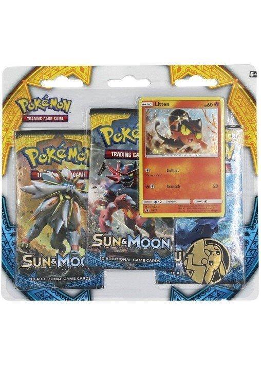 Litten blister pack (3 stk.) - Sun & Moon