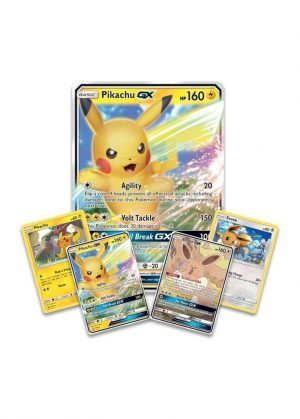 Pikachu GX & Eevee GX Special Collection GX Box. - Promo og JUMBOkort