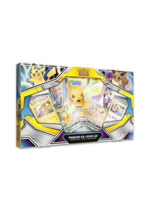 Pikachu GX & Eevee GX Special Collection GX Box.