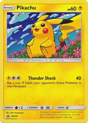 Pikachu blister pack (1 stk.) - S&M Unified Minds - Pikachu SM206
