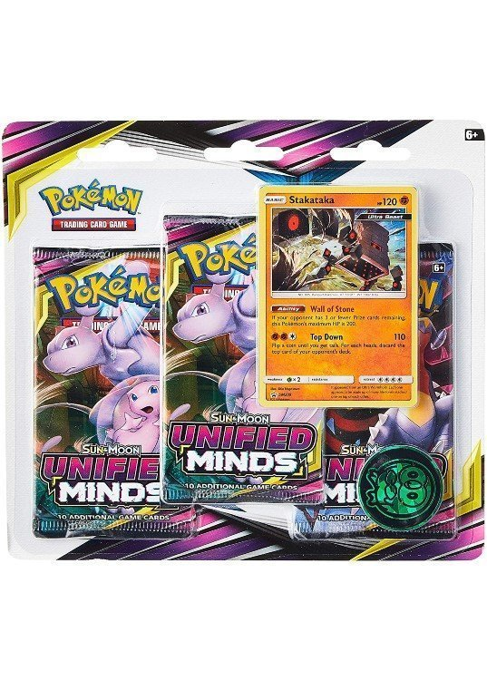 Stakataka blister pack (3 stk.) - S&M Unified Minds