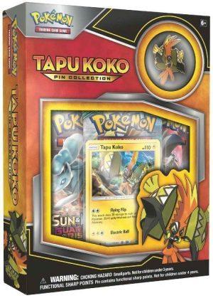 Tapu Koko Pin Collection Box.