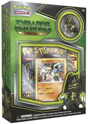 Zygarde Complete Forme Pin Collection Box.