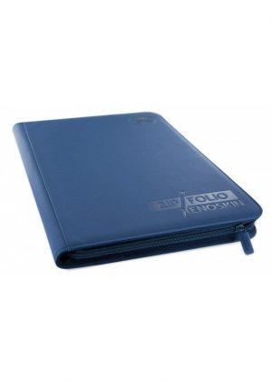 Samlemappe i høj kvalitet: Ultimate Guarde 9-pocket ZipFolio XenoSkin - Blå