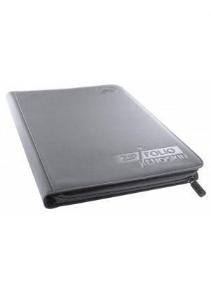 Samlemappe i høj kvalitet: Ultimate Guarde 9-pocket ZipFolio XenoSkin - Grå