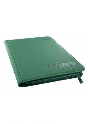 Samlemappe i høj kvalitet: Ultimate Guarde 9-pocket ZipFolio XenoSkin - Grøn