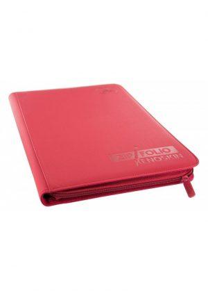 Samlemappe i høj kvalitet: Ultimate Guarde 9-pocket ZipFolio XenoSkin - Rød