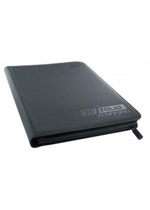 Samlemappe i høj kvalitet: Ultimate Guarde 9-pocket ZipFolio XenoSkin - Sort