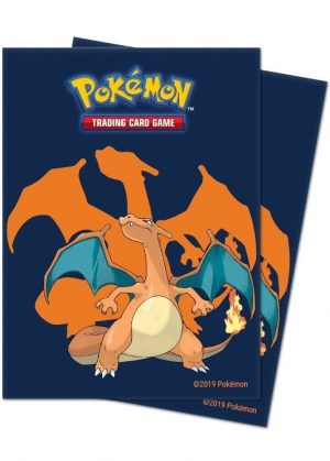 Charizard Deck Protector Sleeves 65 stk. top-loading (66x91mm)