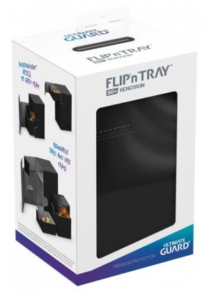 Deck box (Sort) - Flip'n'Tray 80+ XenoSkin™ - Ultimate Guard