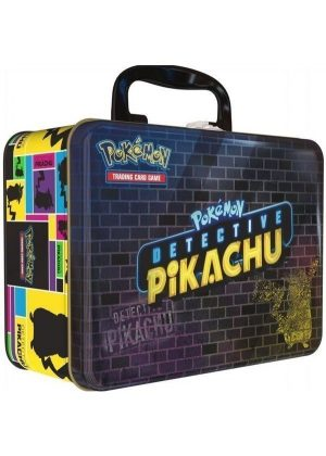 Detective Pikachu - Collector Chest Tin Box.
