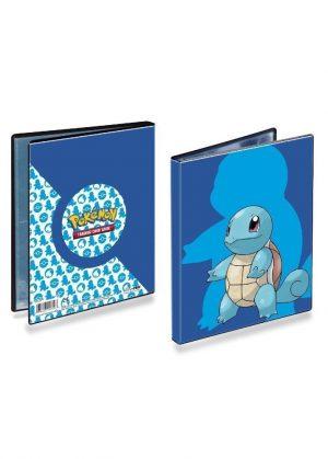 Lille mappe med pokemonmotiv (Squirtle) (4 kort pr. side)