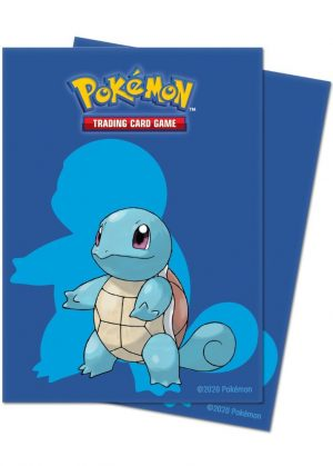 Squirtle Deck Protector Sleeves 65 stk. top-loading (66x91mm)