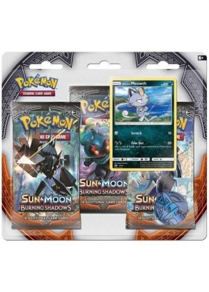 Alolan Meowth blister pack (3 stk.) - S&M Burning Shadows
