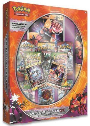 Buzzwole & Xurkitree Ultra Beasts GX Premium Collection.