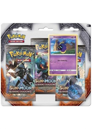 Cosmog blister pack (3 stk.) - S&M Burning Shadows