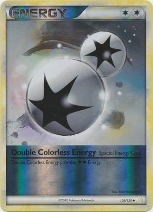 Double Colorless Energy - 103/123 - Reverse