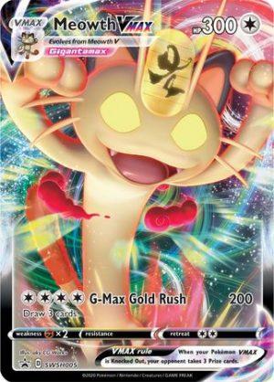 Meowth VMAX - SWSH005 - JUMBOkort