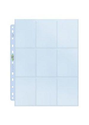 Ultra Pro Platinum 9-pocket pages box (100 stk) - Ultra Pro Platinum 9-pocket page