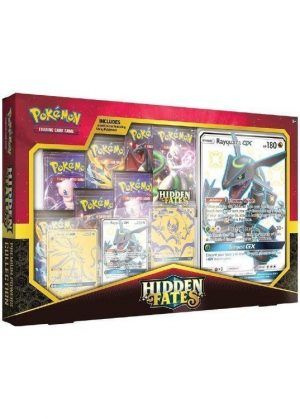 Shiny Rayquaza Premium Powers Collection Box.