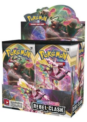Booster Box (36 stk.) - SWSH Rebel Clash