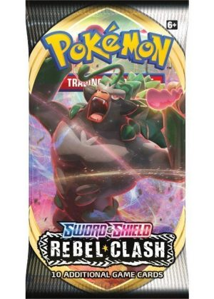 Booster Pack - SWSH Rebel Clash - Pokemon SWSH Rebel Clash Booster Pack