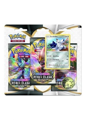 Duraludon blister pack (3 stk.) - SWSH Rebel Clash