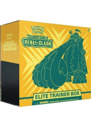 Elite Trainer Box - SWSH Rebel Clash