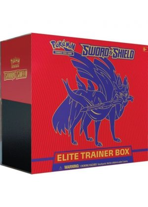 Elite Trainer Box - Zacian V - Sword & Shield