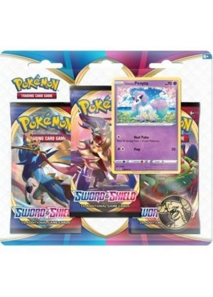 Galarian Ponyta blister pack (3 stk.) - Sword & Shield