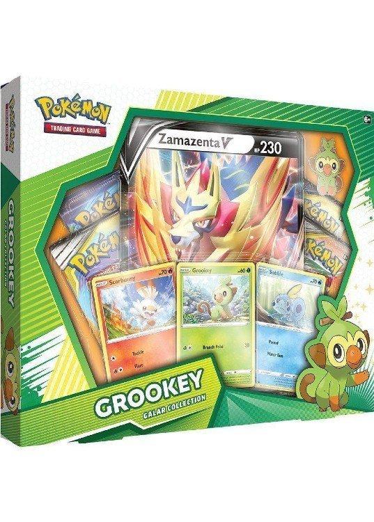 Grookey Galar Collection Box.
