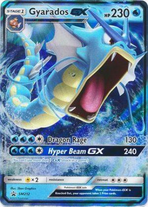 Gyarados GX Tin Box - FORUDBESTILLING!. - Gyarados GX SM212 - Sun & Moon Promo pokemonkort
