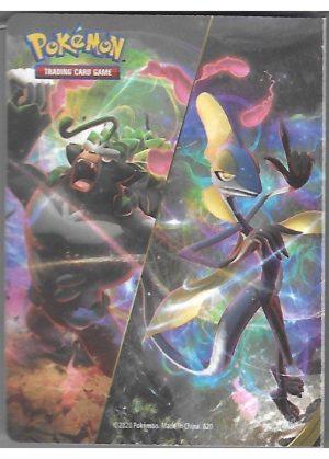 Lille mappe med pokemonmotiv (1 kort pr. side)(RCL) - Bagside
