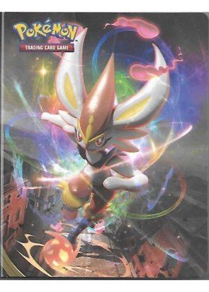 Lille mappe med pokemonmotiv (1 kort pr. side)(RCL)
