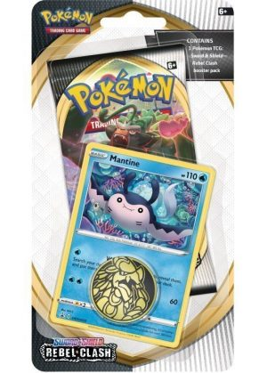 Mantine blister pack (1 stk.) - SWSH Rebel Clash