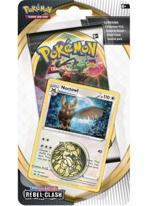 Noctowl blister pack (1 stk.) - SWSH Rebel Clash