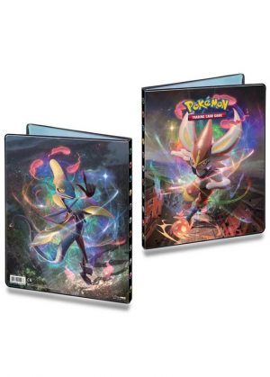 Stor mappe med pokemonmotiv (9 kort pr. side)(RCL)