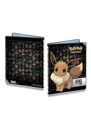 Stor mappe med pokemonmotiv (Eevee) (9 kort pr. side)