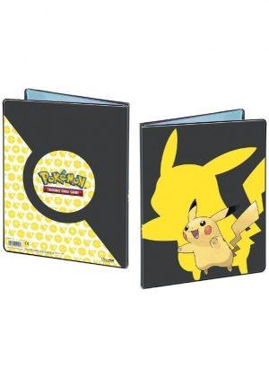 Stor mappe med pokemonmotiv (Pikachu) (9 kort pr. side)