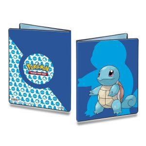 Stor mappe med pokemonmotiv (Squirtle) (9 kort pr. side)