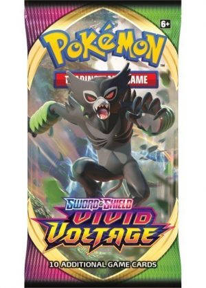 Grimmsnarl Booster Pack fra SWSH Vivid Voltage