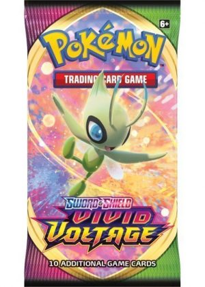 Booster Pack fra SWSH Vivid Voltage