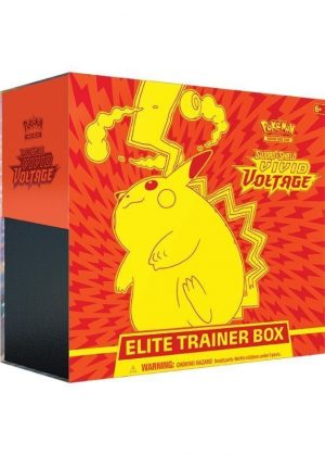 Elite Trainer Box fra SWSH Vivid Voltage