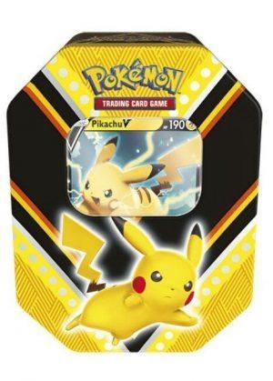 Pikachu V Tin Box.