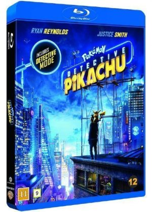 Detective Pikachu Blu-Ray